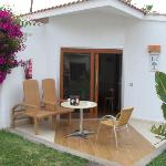 outside bungalow -