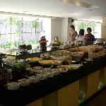Quest Hotel Breakfast Buffet Menu