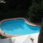 Small swimming pool.