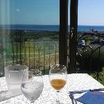 Sala colazione affaccio isola Tavolara