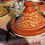 Tajine prepared by Hajiba