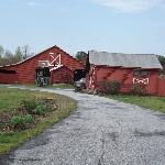 This is the Corn Crib where we stayed
