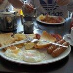 Yum! Brixham Cafe Breakfast