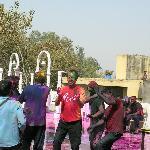 beim Holi Fest