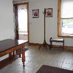 separate guest entrance