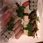 nigiri and roll selection