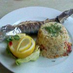 Excellent fish and rice