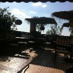 La terrasse du Riad Andalla