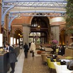 St Pancras Hotel Receeption