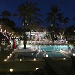 Garden lights for the wedding night
