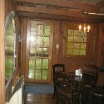 the cabin dining room