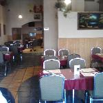 interior of the India Clay Oven restaurant