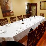 One of Saluda's Private Dining Rooms