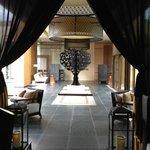 A lobby at hotel