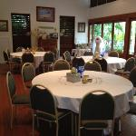 private function room. they also have a large one too...