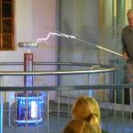 Electricity demo for school group
