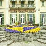Back entrance of hotel