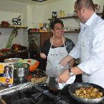 Chiara and Gennaro and their love for cooking