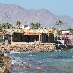 looking towards Dahab from the Ghazala
