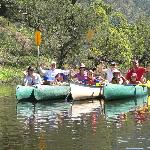 Canoe session at CRWL