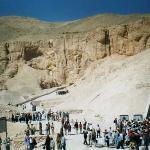 Tomba di  Ramses VI: ingresso
