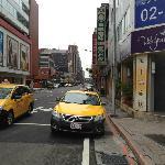 Taxi aplenty.