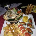 Seafood Feast for dinner