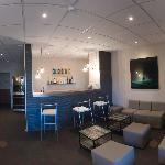 Réception de l'hotel et Bar