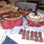 buffet puddings - excellent