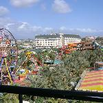 funfair and water park