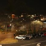 Marietta Square at Night (from Roof of Theater)