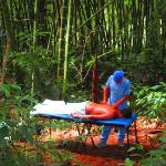 Massage in the Bamboo Forest