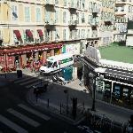 View from Second Floor Room facing Rue Pastorelli.