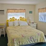 Clean, distinctively decorated rooms