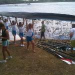 Stayed during State Rowing competition