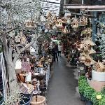 Paris Cite Blumenmarkt