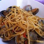 espagueti marinero