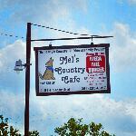 Sign Outside Mel's