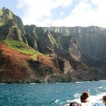 Na Pali coast from the Lucky Lady catamaran
