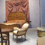 the bedroom of art nouveau designer, Hector Guimard