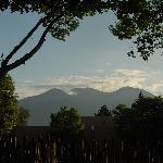 Another view from La Posada de Taos' Yard