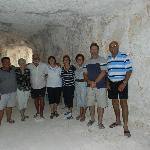 Underground with our hosts Ken & Ana.