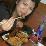 Da large Bento w/ Garlic Chicken