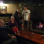 Inside the Cardrona - have to admit, it looks cosy