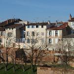 Vue sur les maisons de la Mandoune - Montauban