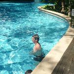 huge pool at drift