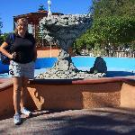 Plaza de la Constitución: Réplica del Hongo de Balandra