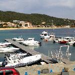 le petit port de Porto Pollo