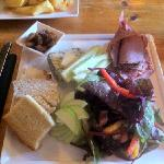 ploughmans lunch at Fox and Hounds