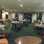 View of breakfast room